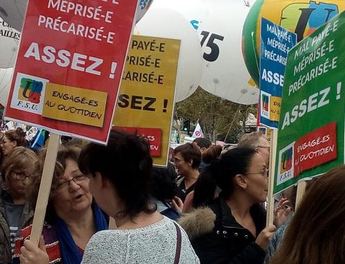 La FSU appelle à manifester le samedi 26 mai