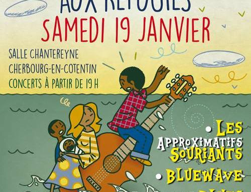 CONCERT  de soutien aux RÉFUGIÉS : samedi 19 janvier